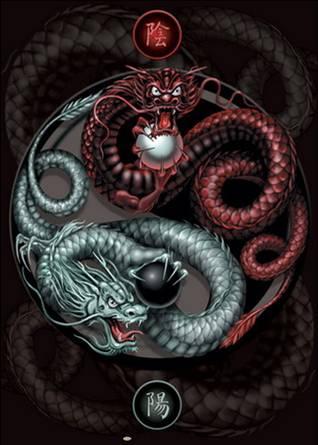 Драконы для росписи
