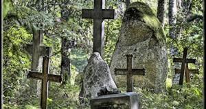 увидела на кладбище саму себя