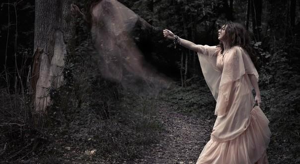 душа умершей девушки