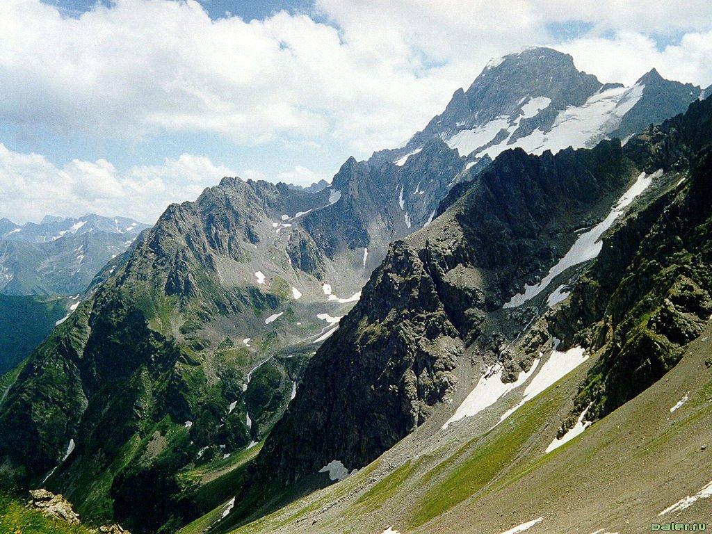 кавказские горы картинка