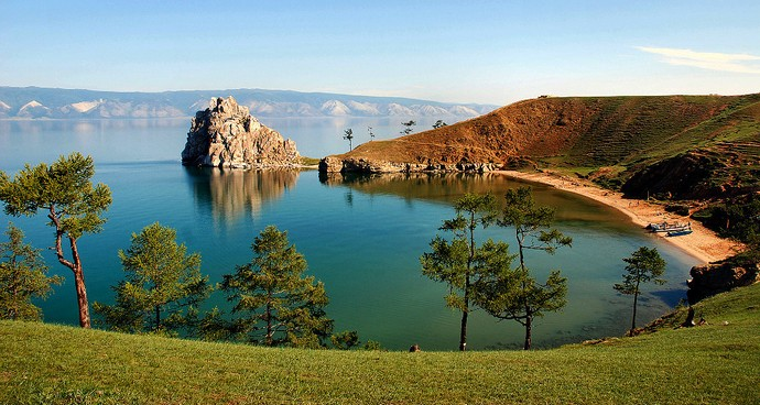 Озер красота