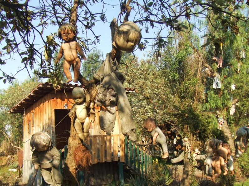 Мексиканский остров страшных кукол