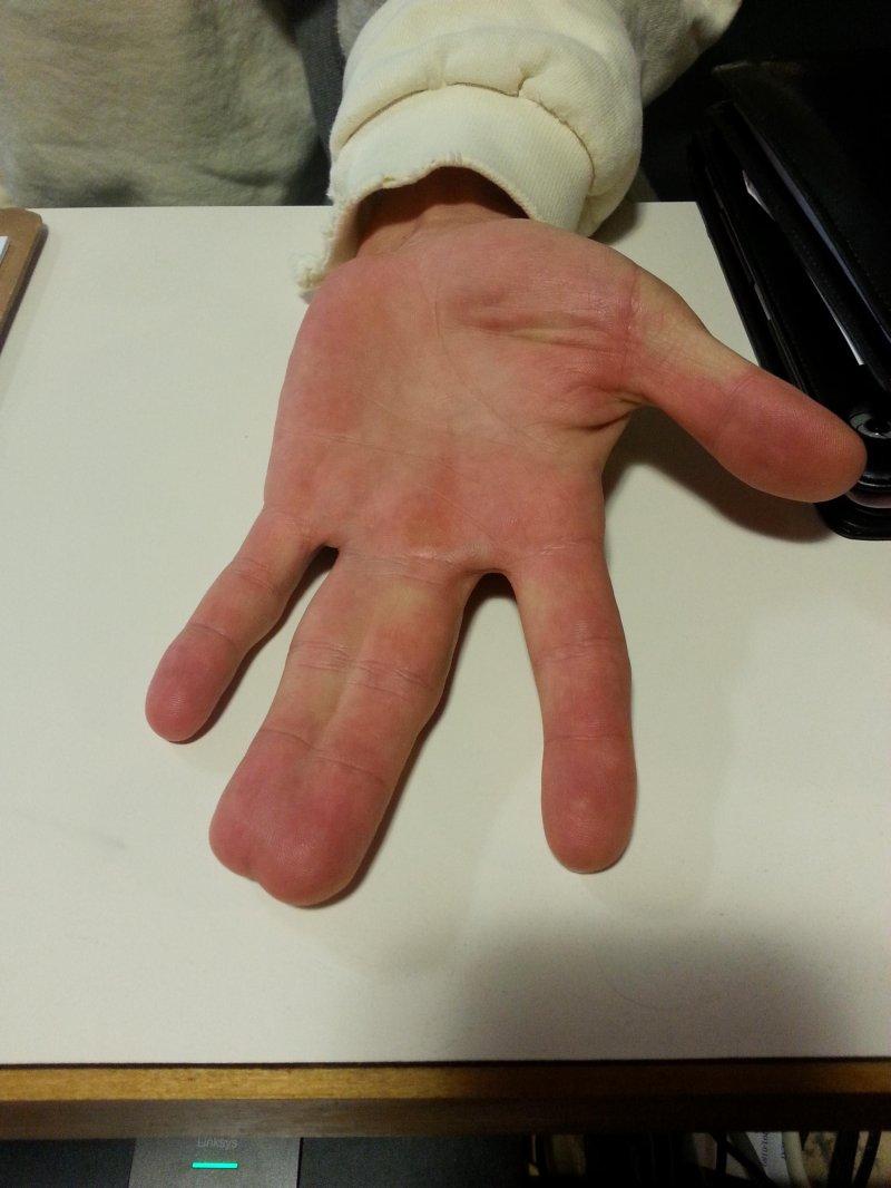 Как сделать пальчики на руку