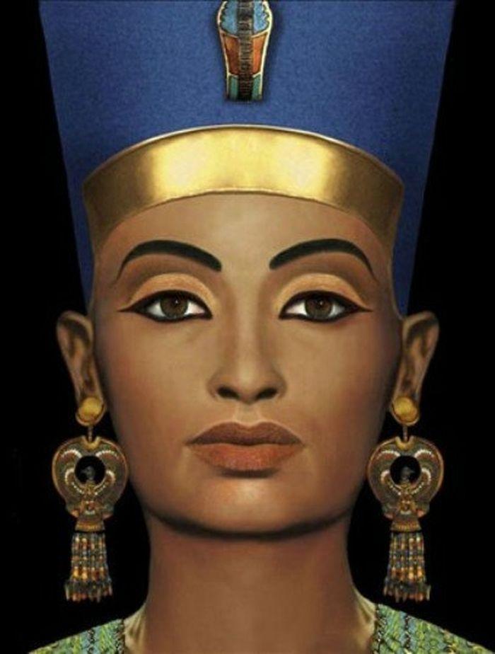 Фото макияж нефертити