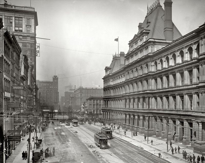 Старые фото американских городов