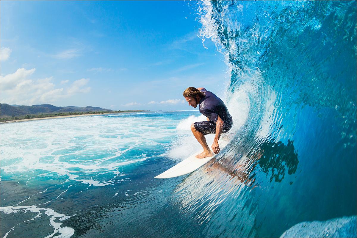 как ловить серфер волны