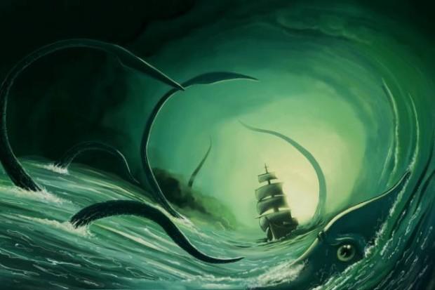 Кракен — зловещая тайна океанских глубин
